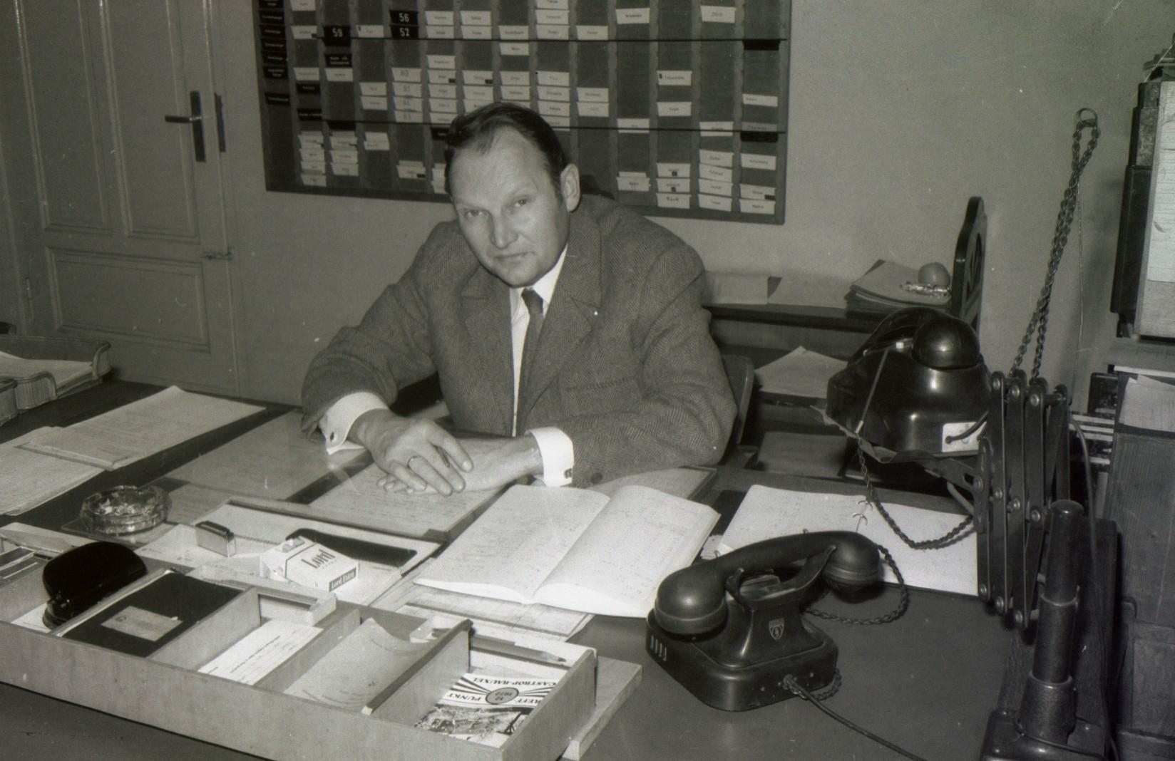 Betriebsführer Produktion Ickern 3 Siegfried Böger
