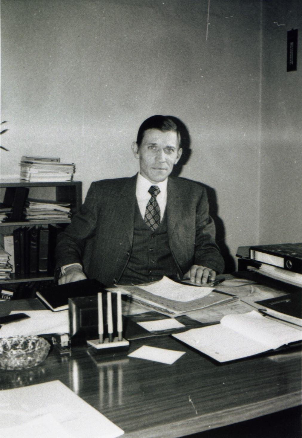 Betriebsdirektor Personal-und Sozialwesen Heinz Tafel