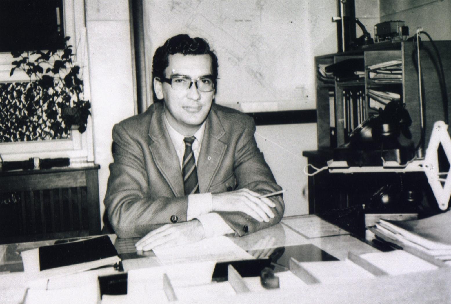Fahrsteiger Norbert Brandenburg