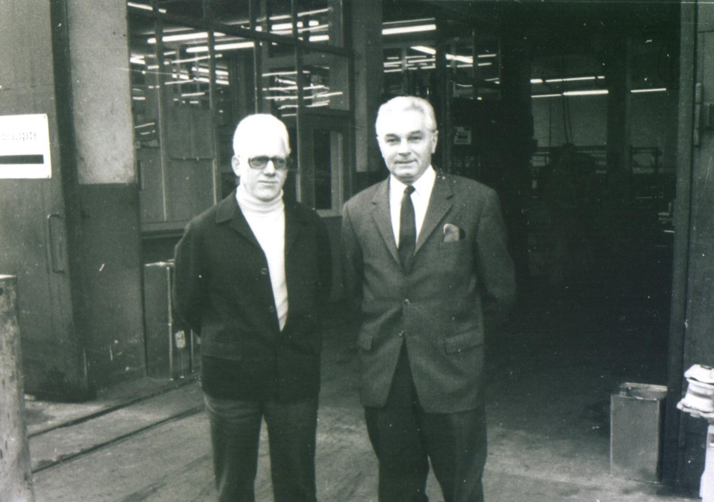 von Links:Magazinleiter Victor 3/4 Düsenberg und Ickern 1/2 Budde