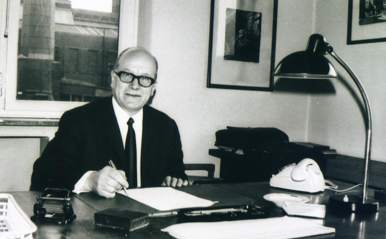 Sicherheitsingenieur Heinz-Werner Fiege