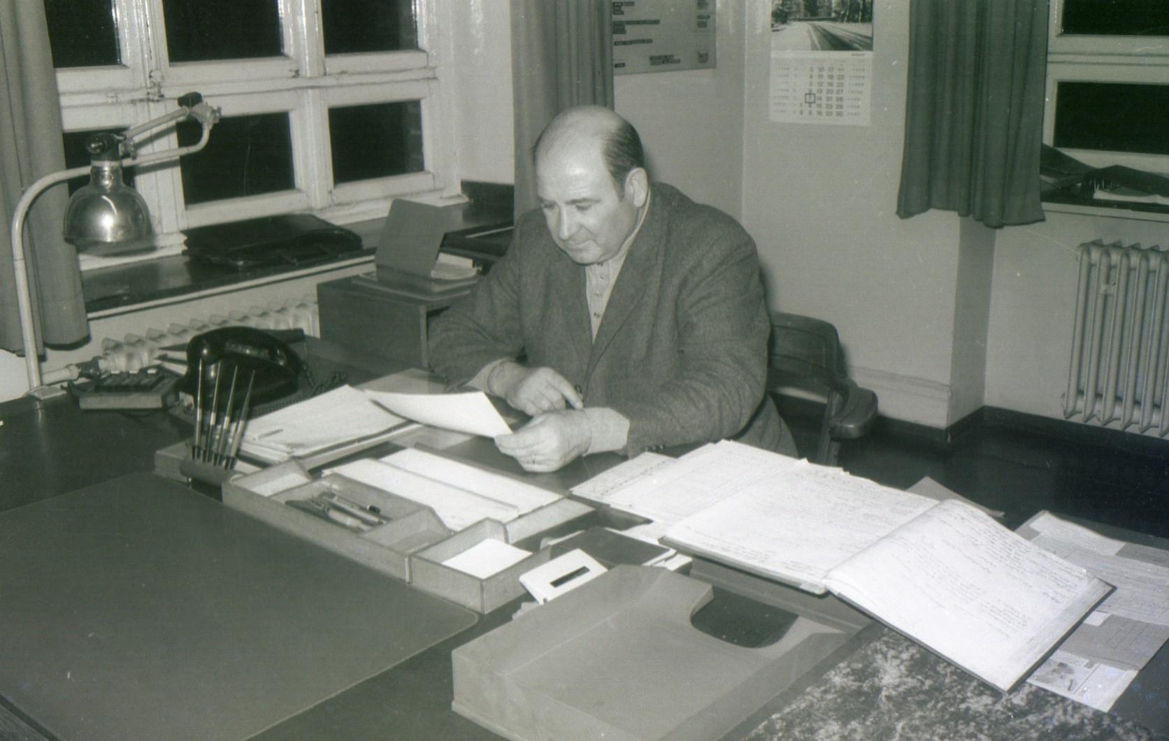 Betriebsführer Über-Tage  Helmut Ast