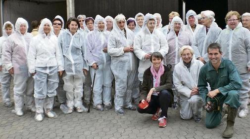 Die Gadenstedter Landfrauen besuchten den Eierhof von Karsten Lüddecke in Groß Lafferde.