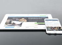 Onlinesprechstunde mit iPad oder Tablett