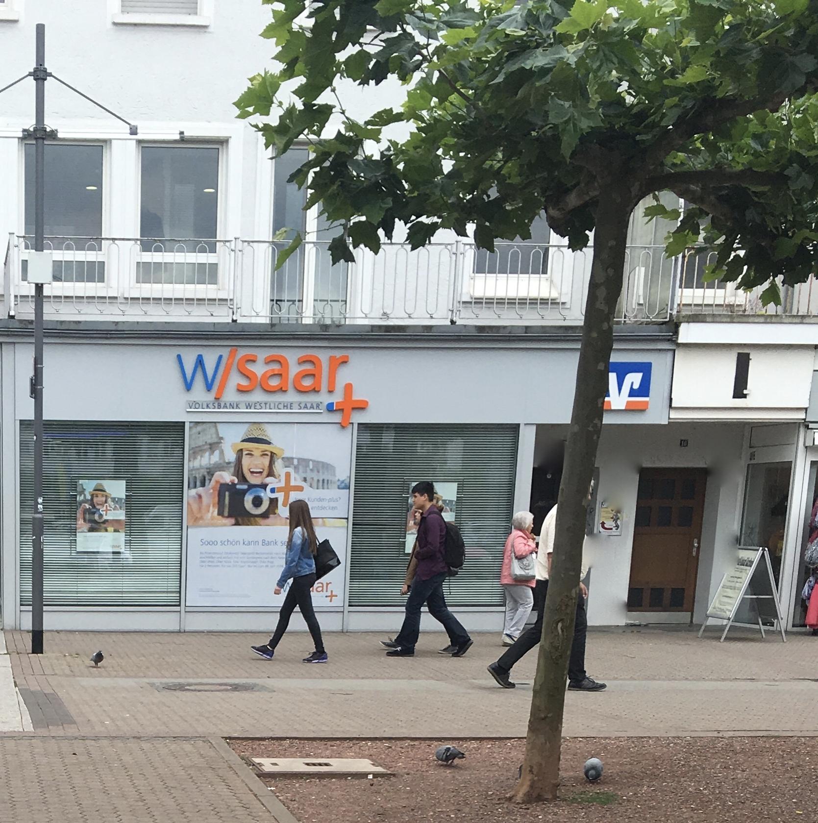 Eingang zur Praxis : Großer Markt 15 in Saarlouis