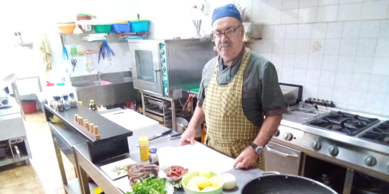 Graziano e la sua cucina