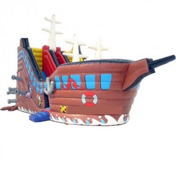 Hüpfburg mieten Berlin: Piratenschiff mit Rutsche