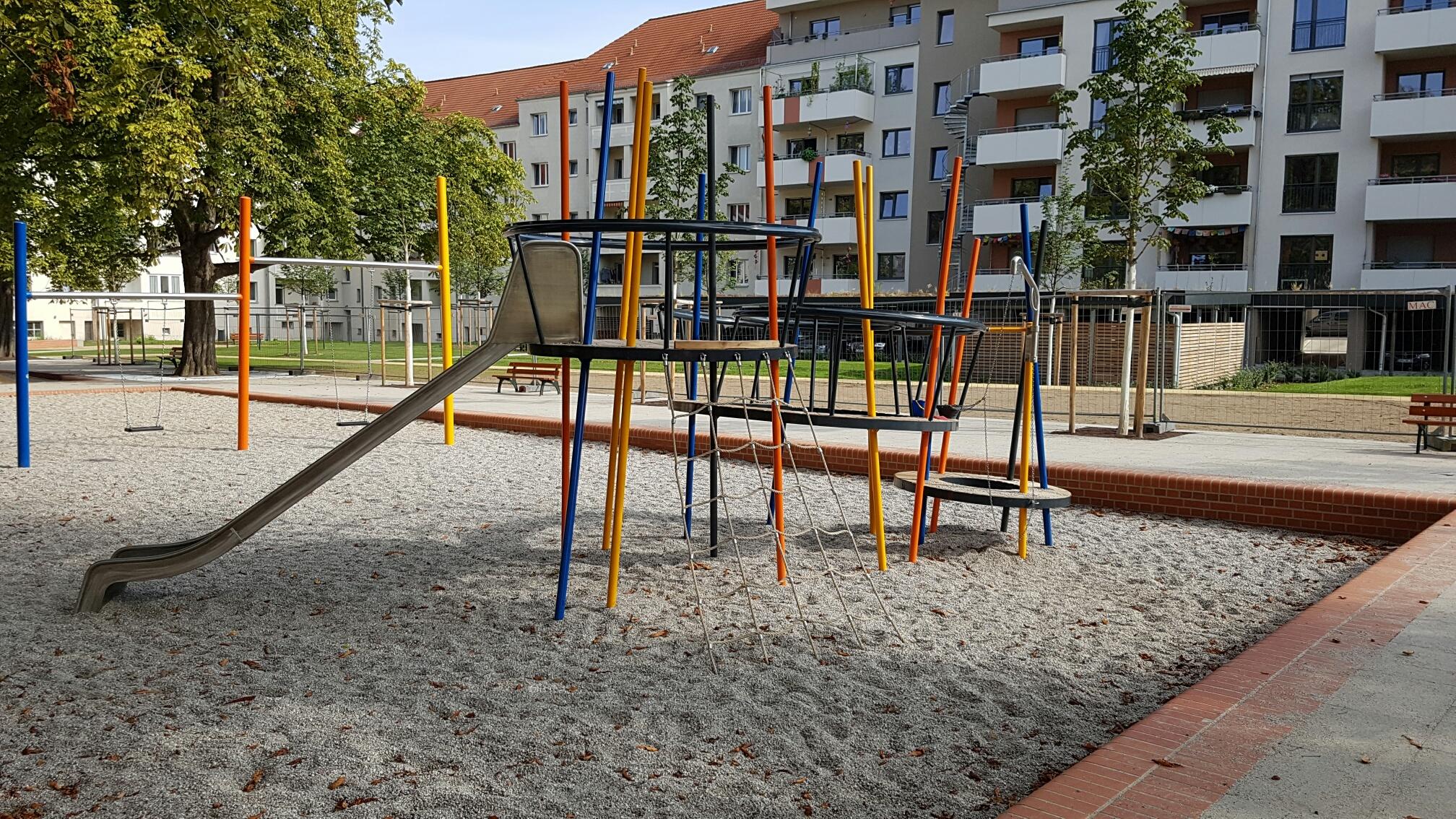 Kinderland Ringespiel in Leipzig