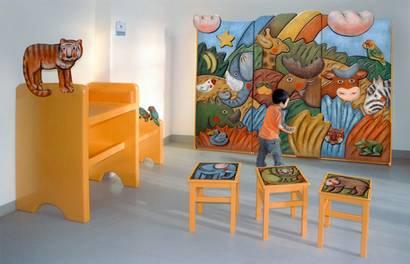 Atelier Pohl Berlin Spielwände und Motiv-Möbel