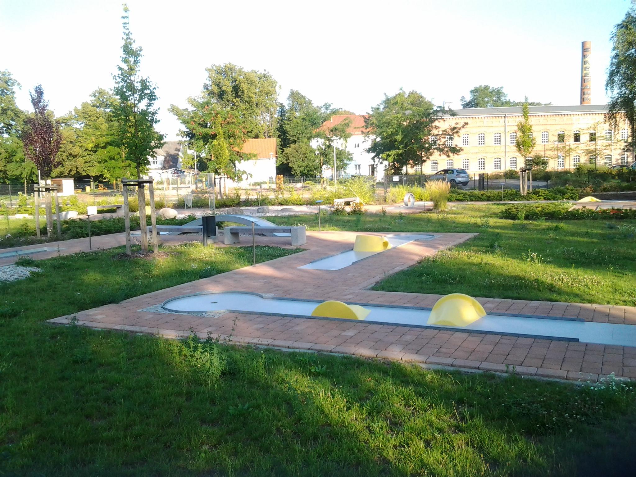 Concrete Mingolf-Anlage Beeskow
