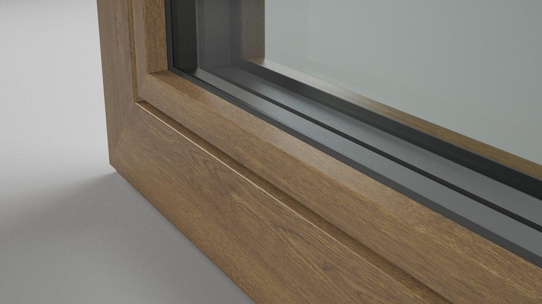 Aluminium Holzdekor