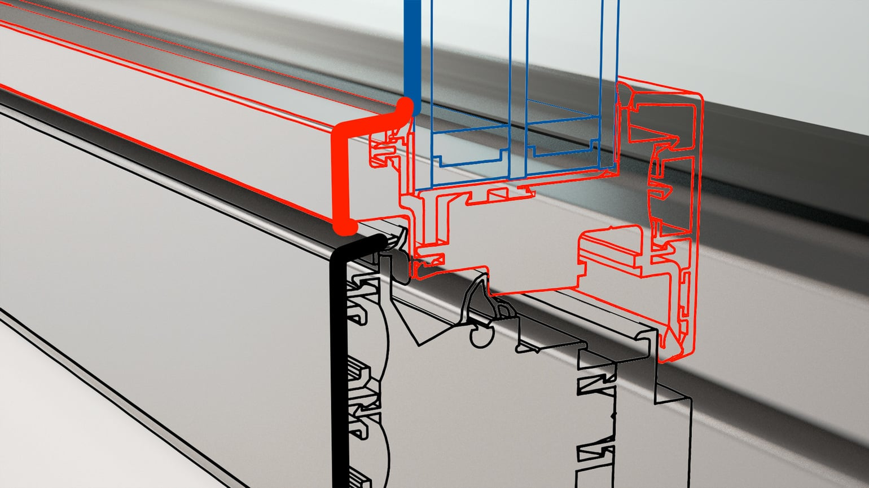 Classic-line FIN-Project/FIN-Slide: klassisch gerade