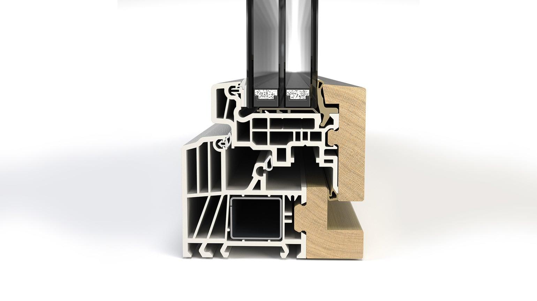 Kunststoff-Holz