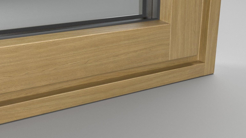 Kunststoff Holzdekor