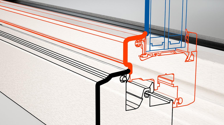 Slim-Line: Altbaufenster-Optik mit schmalen Rahmen.
