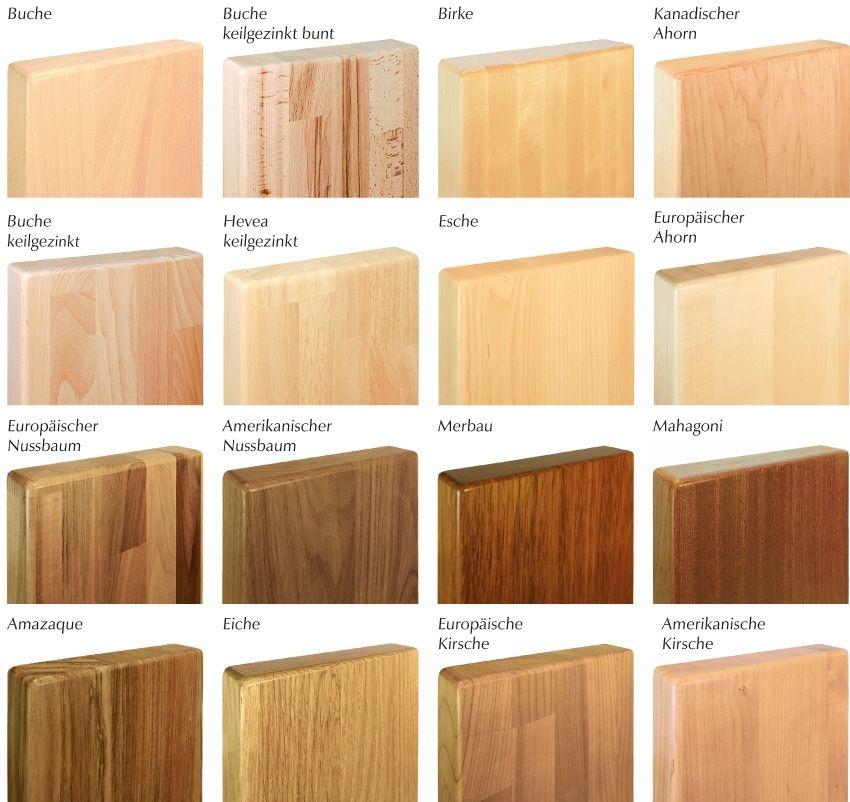 Die besten Holzarten für Schneidebretter