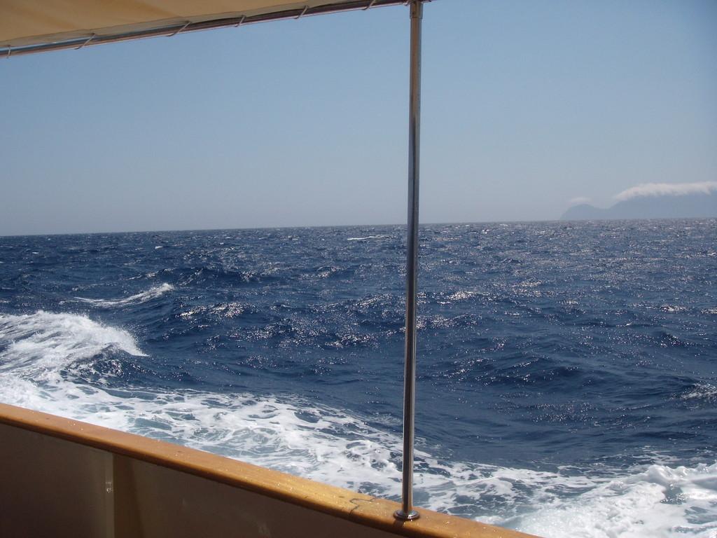 L'arrivo in Sardegna