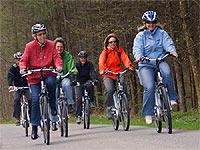 Mit dem E-Bike auf Tour entlang der Simme