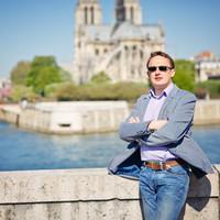 Александр Лазорев, гид в Париже