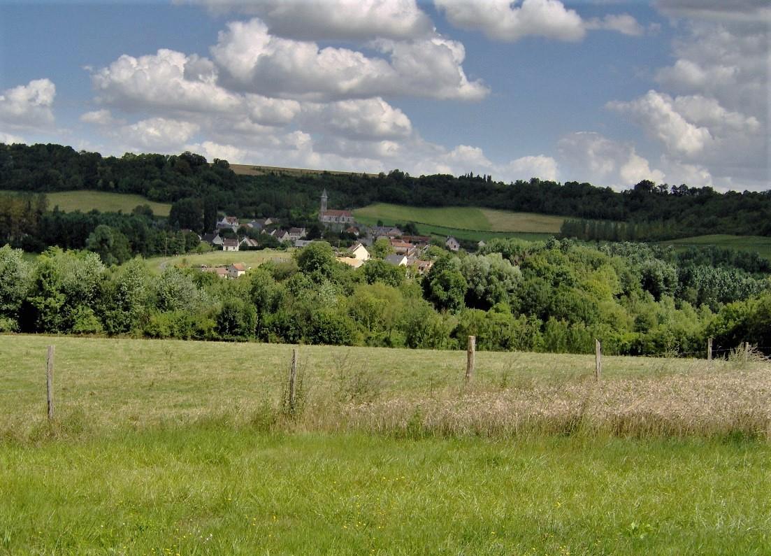 Vue sur Braye-en-Laonnois