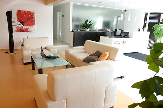 Bequemer Sitzbereich für unsere Gäste. Foto © Klempnerei Ulbricht