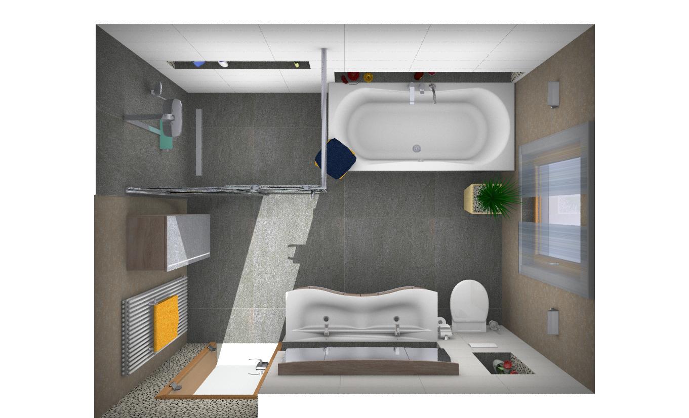 3D-Badkino Planungsbeispiel © Klempnerei Ulbricht
