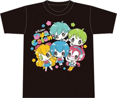 EVANGELION×せきやゆりえ「eva colon:」Tシャツ