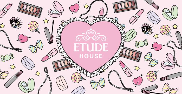 ETUDE HOUSE 原宿竹下通り本店 オープンイベント 招待状デザイン