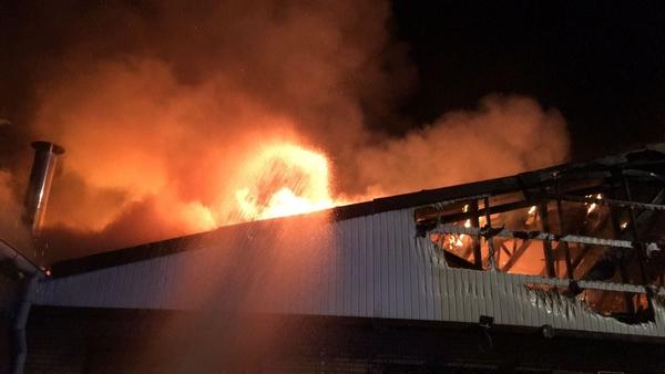So sah es beim Eintreffen der Feuerwehr aus. (Foto: Feuerwehr Quickborn)