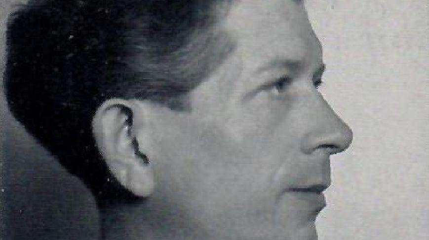 Artur Grenz im Alter von etwa 40 Jahren, als er das zur Aufführung kommende Streichquartett schrieb