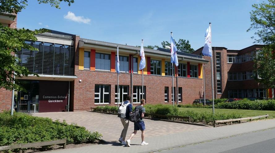 Auch die Comenius-Schule soll mit Belüftungsanlagen ausgestattet werden