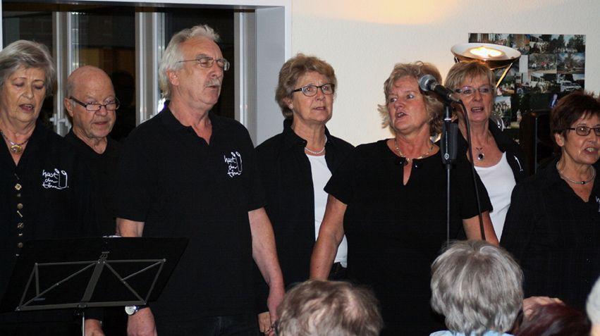 """Ein Höhepunkt der Feier war der Auftritt des Quickborner Chores """"Haste Töne"""""""