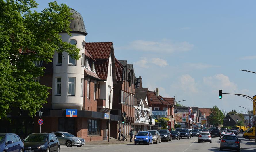 An der Kieler Straße soll nach dem Willen aller Parteien ein Radweg entstehen (Foto: Archiv)