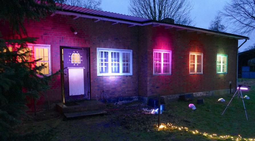 So wie im vergangenen Jahr wird auch 2021 das Henri-Goldstein-Haus bunt beleuchtet