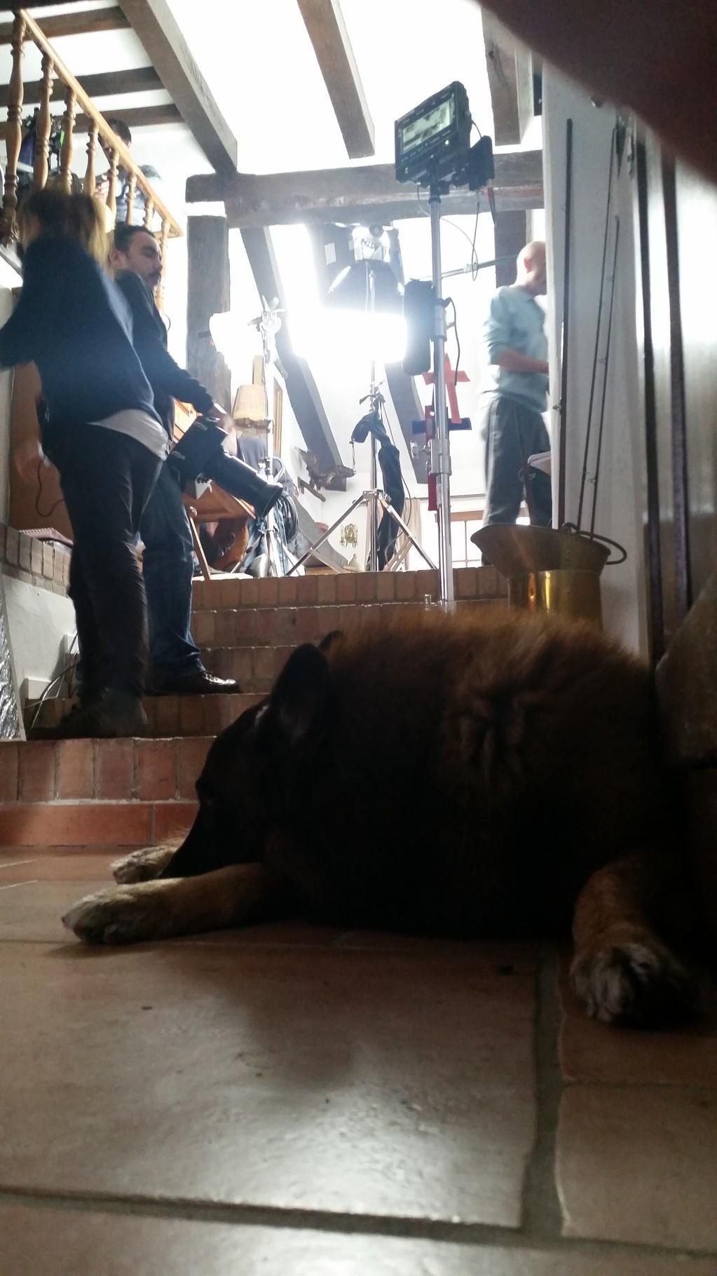 """Lasko sur le tournage de """"La volante"""""""