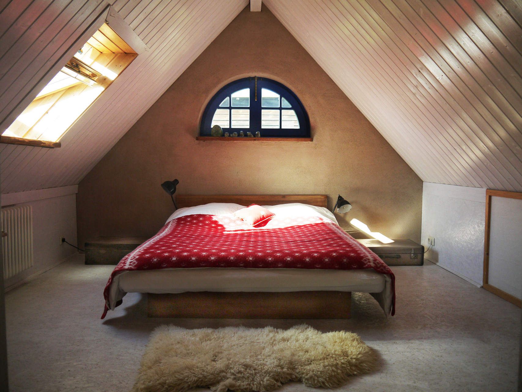 Baldachin-Schlafzimmer im Obergeschoß