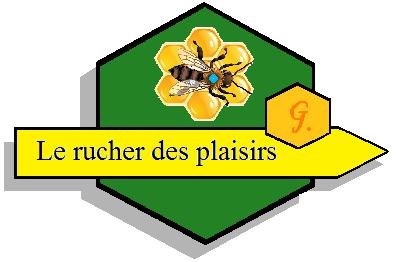 Logo - Le rucher des plaisirs