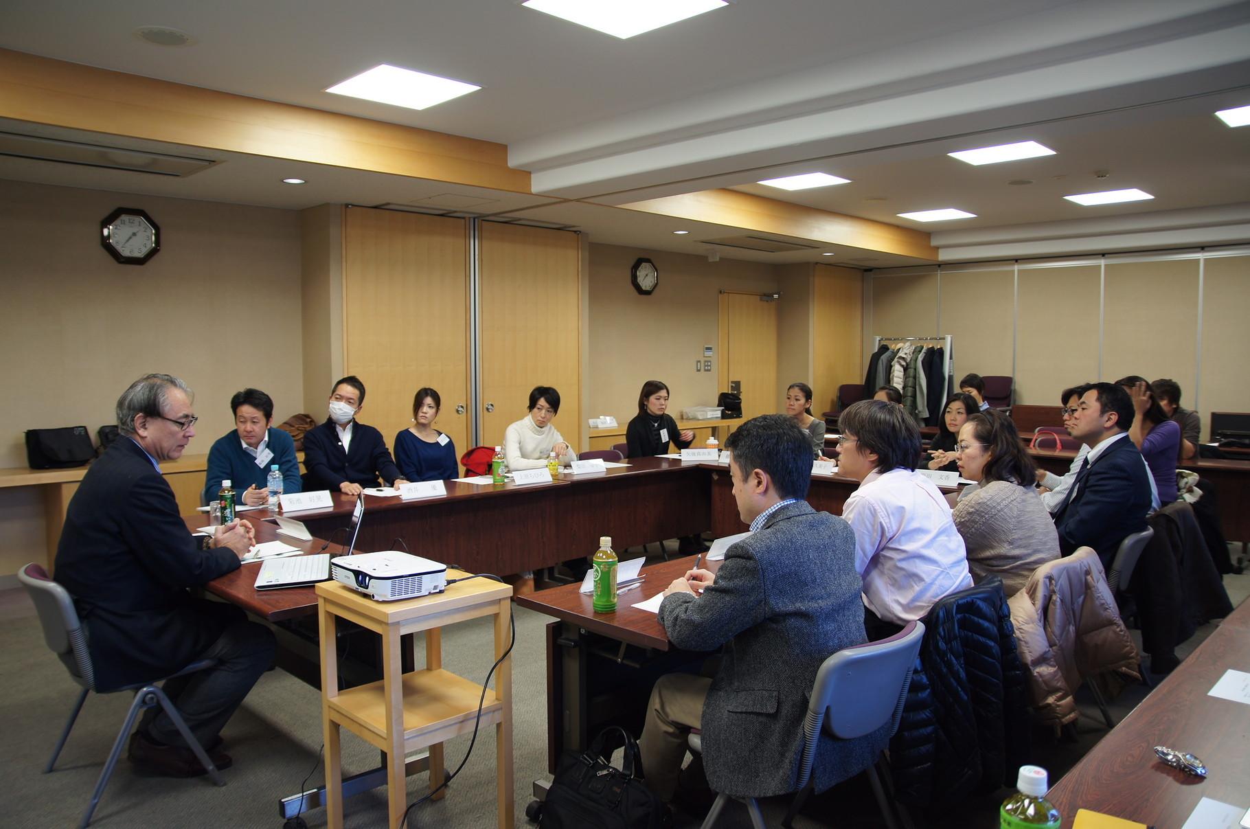 高成田先生の講義風景