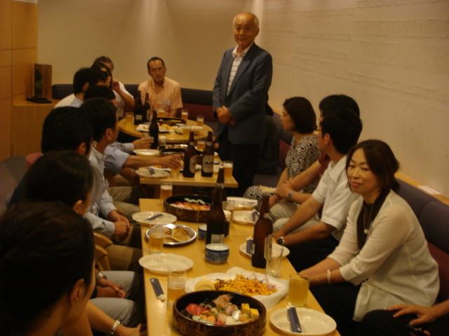 第9期 福川さんの乾杯!