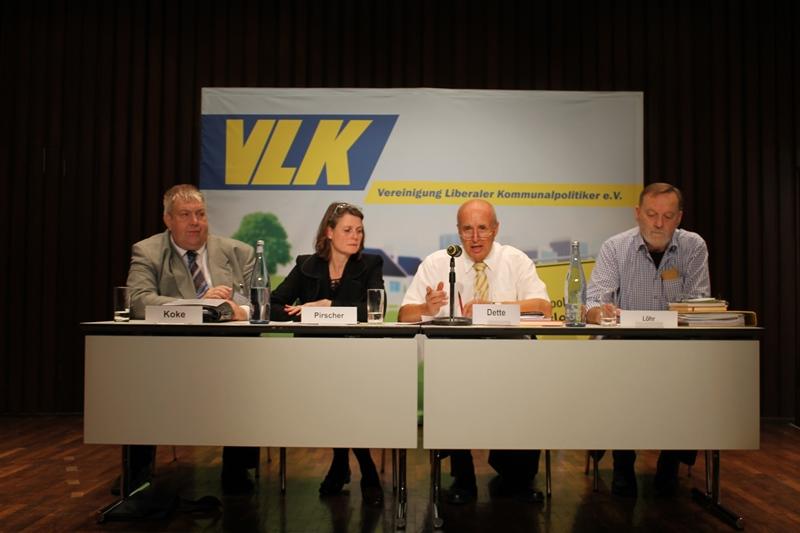 v.l.n.r.: M. Koke, J. Pirscher, W. Dette, R. Löhr