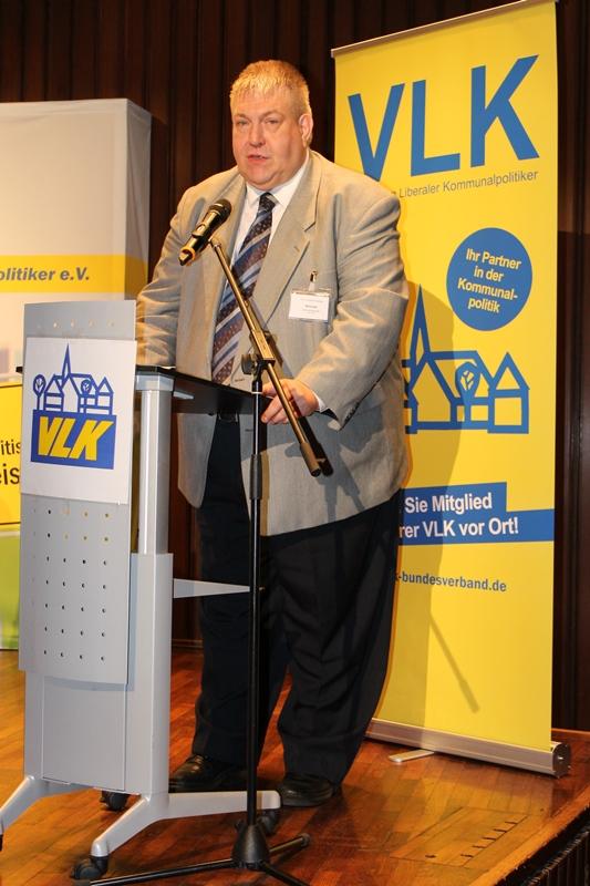M. Koke, Bundesschatzmeister der VLK