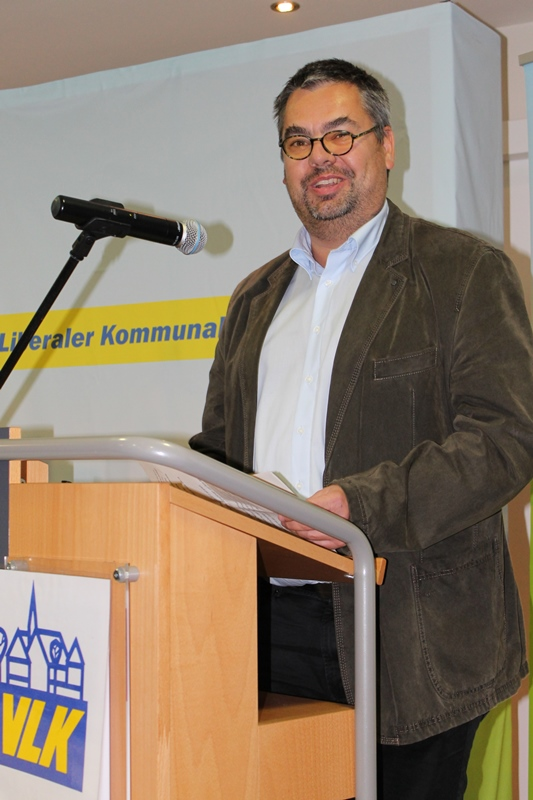 Schatzmeister Markus Schiek