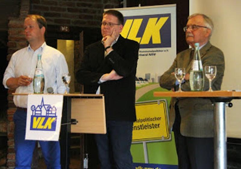 Dr. Joachim Stamp MdL, Kai Abruszat MdL, Jochen Dürrmann