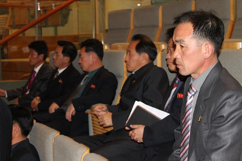 Besichtigung des Plenarsaals