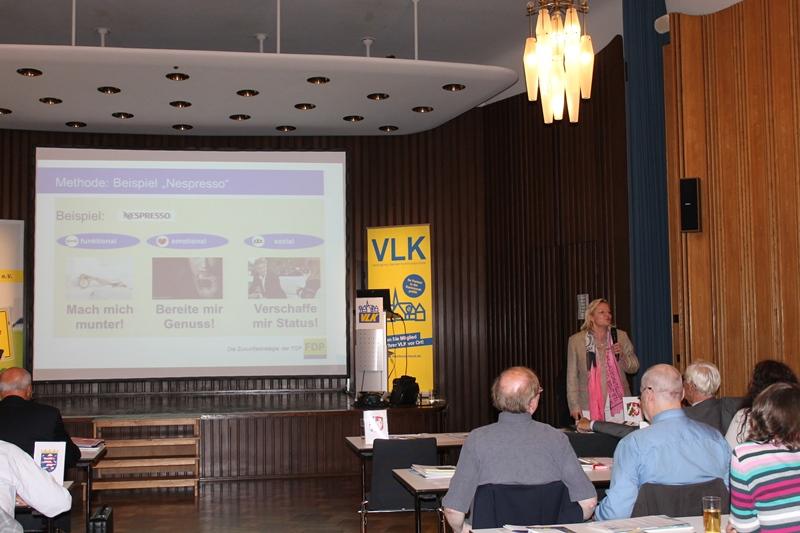 Vortrag Gisela Piltz, Mitglied des Bundesvorstands der FDP