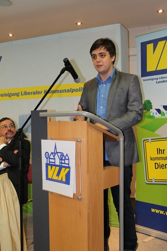 Frederik Schorn, Vorsitzender der Jungen Liberalen Kreisverband Euskirchen