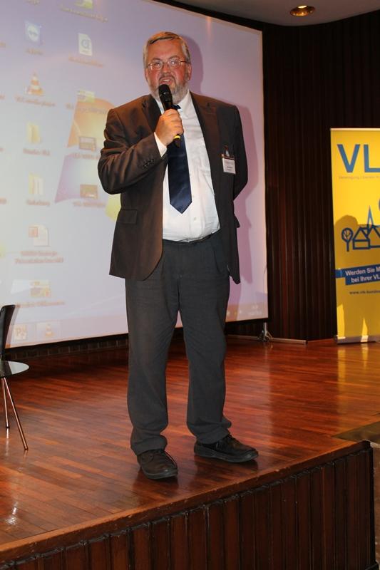Karl Peter Brendel, Geschäftsführer der Bundes VLK