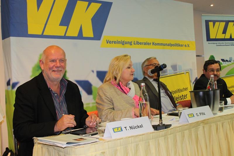 v.l.n.r.: T. Nückel, G. Piltz, J. Dürrmann, B. Kuckels
