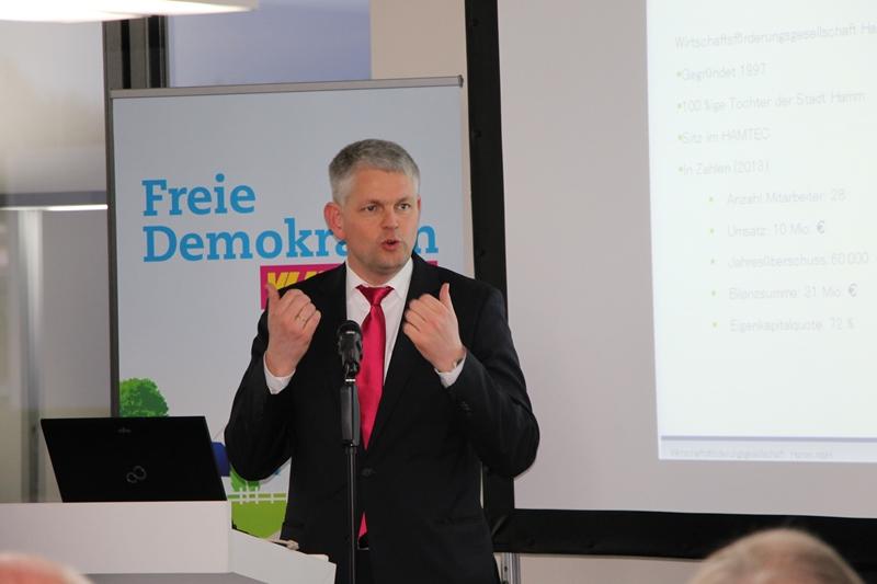 Chr. Dammermann, Wirtschaftsförderungsgesellschaft Hamm