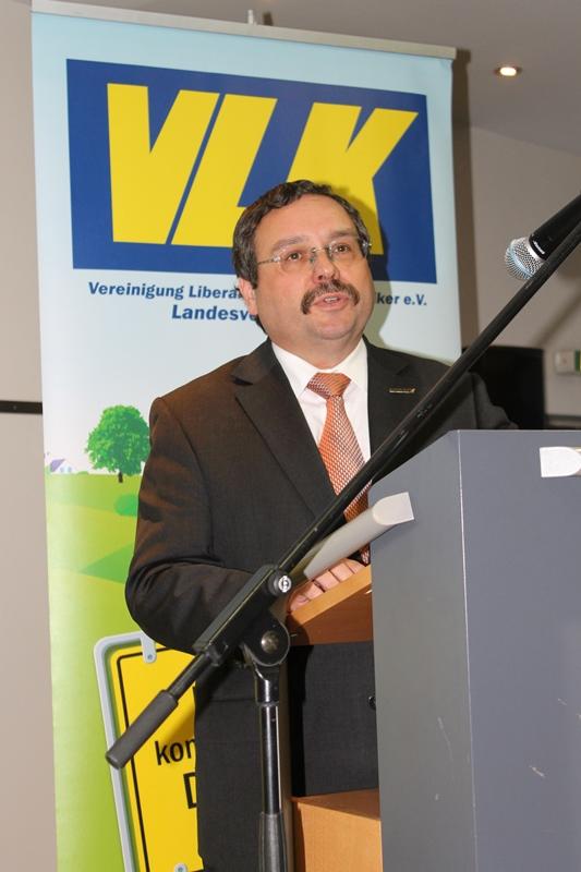 B. Kuckels, 1. stellv. Vorsitzender des Vorstands